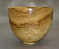 Spalted Maple wooden bowl